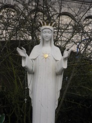 Beauraing Apparition - the Virgin with the Golden Heart
