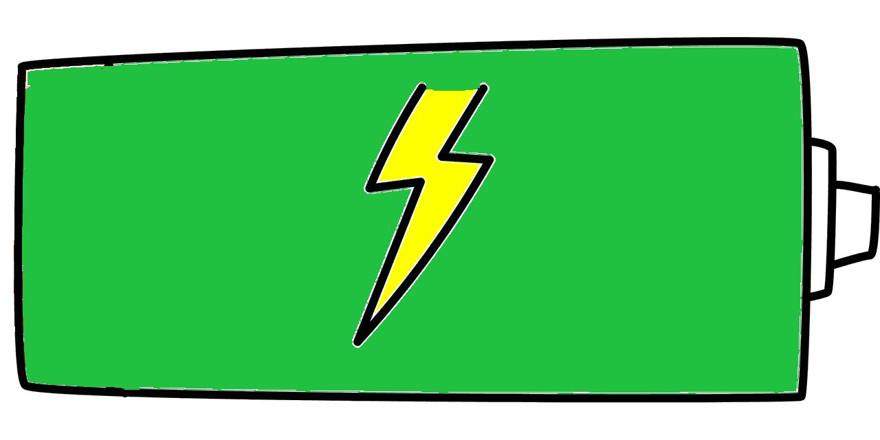 battery - green